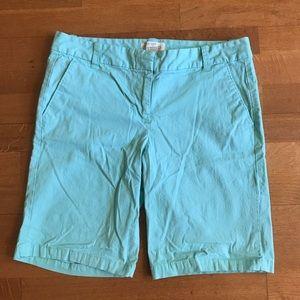 JCrew Bermuda Shorts Sz 4